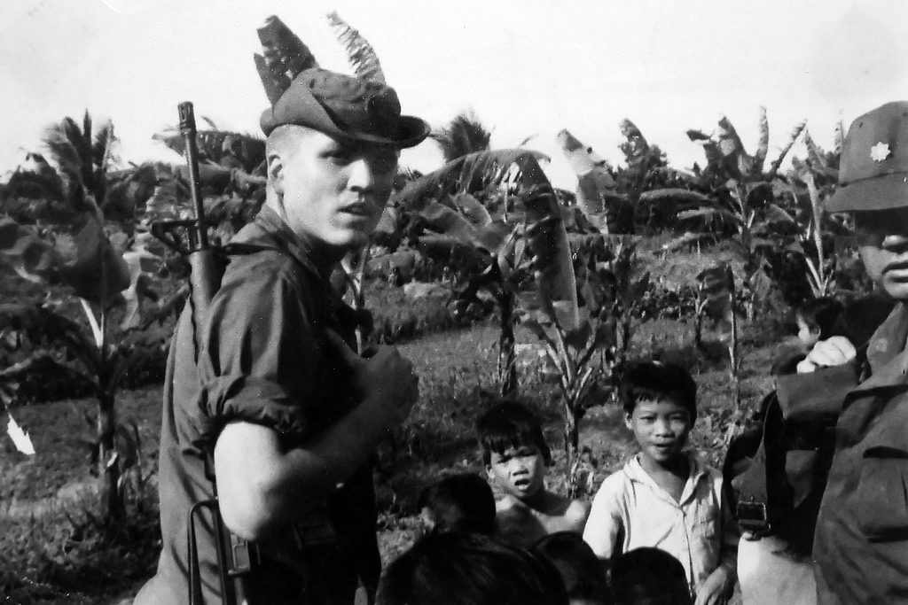 The author in the countryside deep in the Mekong Delta in 1969. (Photo: Hargrove Personal Archives)