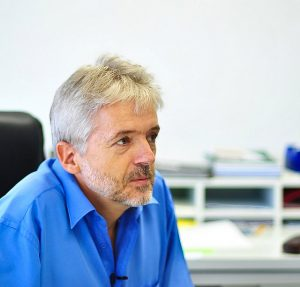 Martin Gummert, an agricultural engineer at the International Rice Research Institute (IRRI)