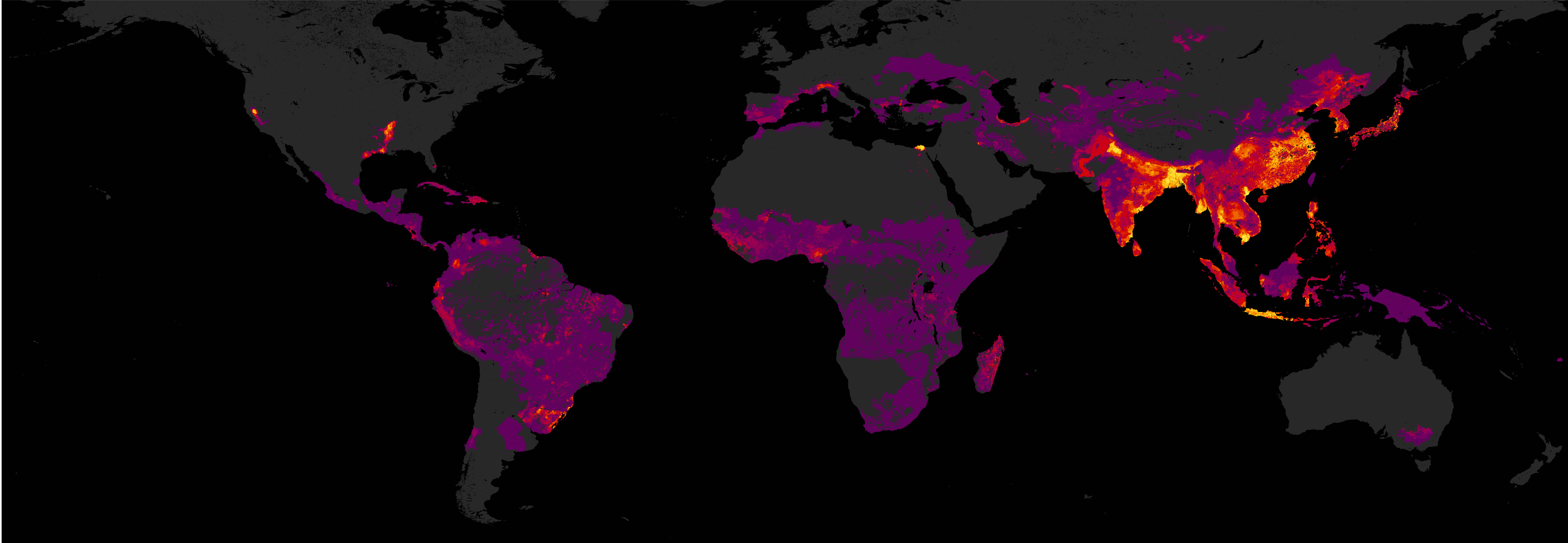 Value of rice production as a percentage of all crops