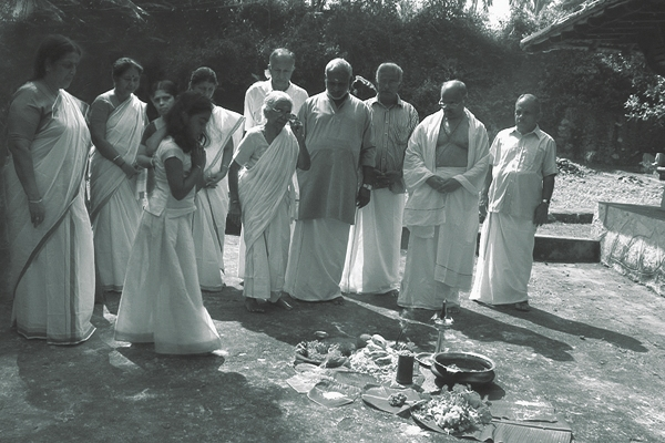 Ritual celebrating the birth of rice, Photo by Hari Krishnan Nair