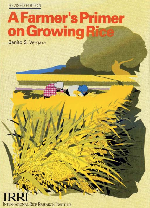 Figure 4.  One of the versions of A Farmer's Primer on Growing Rice (Photo: philscitech.org)