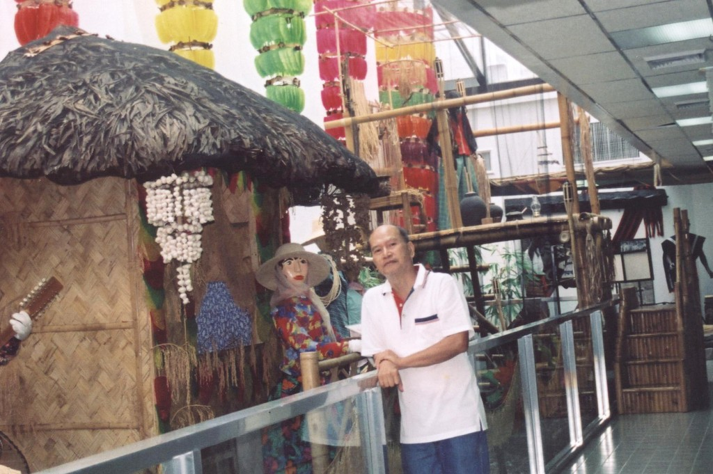 Figure 6. Dr. Vergara at the Riceworld Museum and Learning Center. (Photo: philscitech.org)