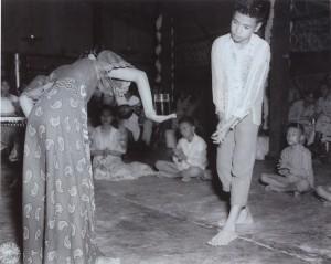Figure 2. Dr. Vergara dancing Pandango sa Ilaw.