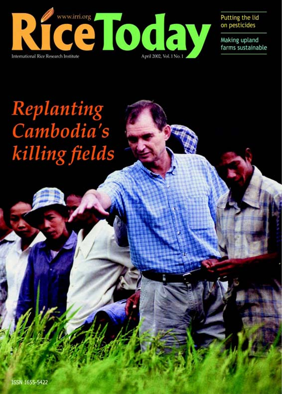 Replanting Cambodia's killing fields