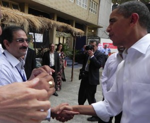23. Ladha with Obama
