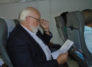 92. Zeigler on a plane
