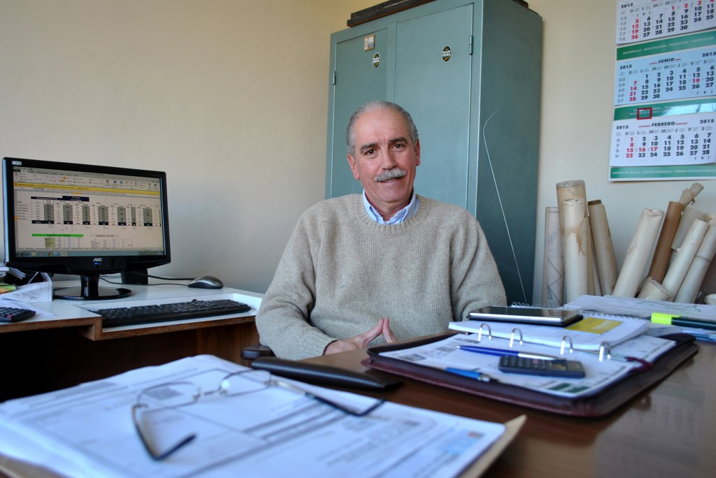 Gonzalo Rovira, technical manager at Coopar, S.A., Uruguay, has been working with production data for the past 34 years.