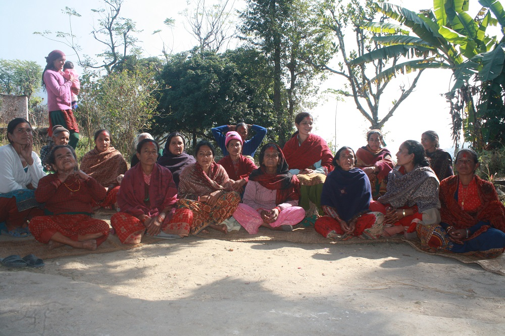 Women seed-producer groups and seed cooperatives in the three districts were established to ensure that seeds of improved rice varieties are widely available. (Photo: GRiSP)