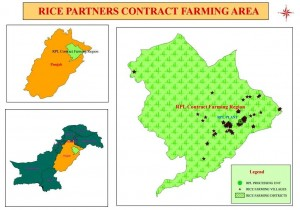 Map_RPL Contract Farming Area