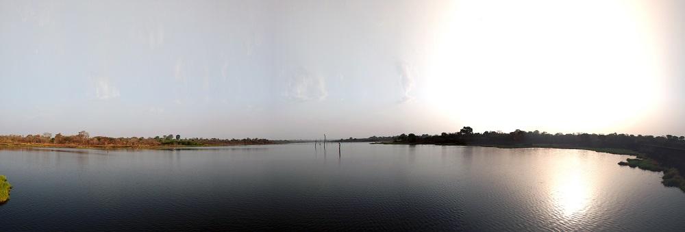 The M'bé dam is a vital lifeline to the rice farming communities in M'bé.
