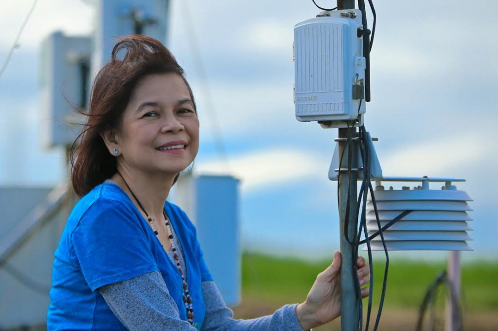 Women scientists are that they are systematic, well-organized, hard-working, articulate, scholarly, and can balance life with work, according to Dr, Alberto. (Photo by Isagani Serrano/IRRI)