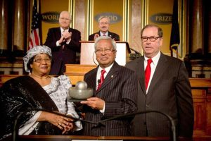 SIR FAZLE Hasan Abed received the World Food Prize in 2015.