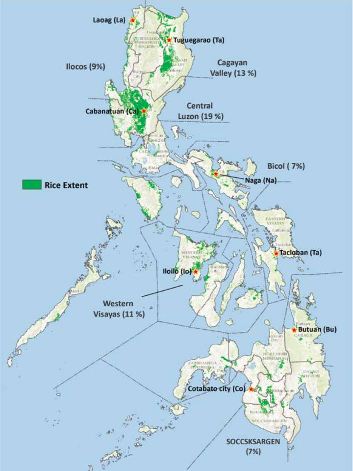 The AWD suitability map shows areas in the Philippines where the use of AWD is suitable.