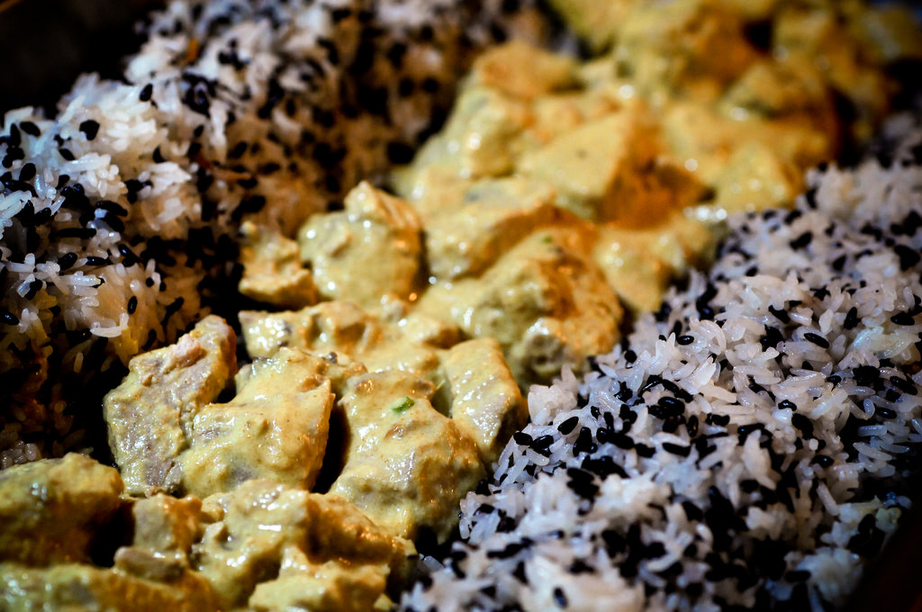 Traveller's Rice with Tuna Curry (Photo: IRRI)