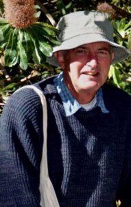 Dr. Piggin in 2015 at the Canberra Botanic Gardens. (Photo courtesy of G. Hettel)